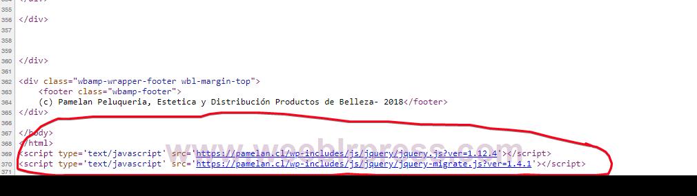 error in page amp | Presale | Weeblr helpdesk