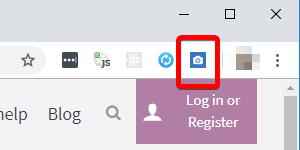 SEOInfo icon when page has AMP version screenshot