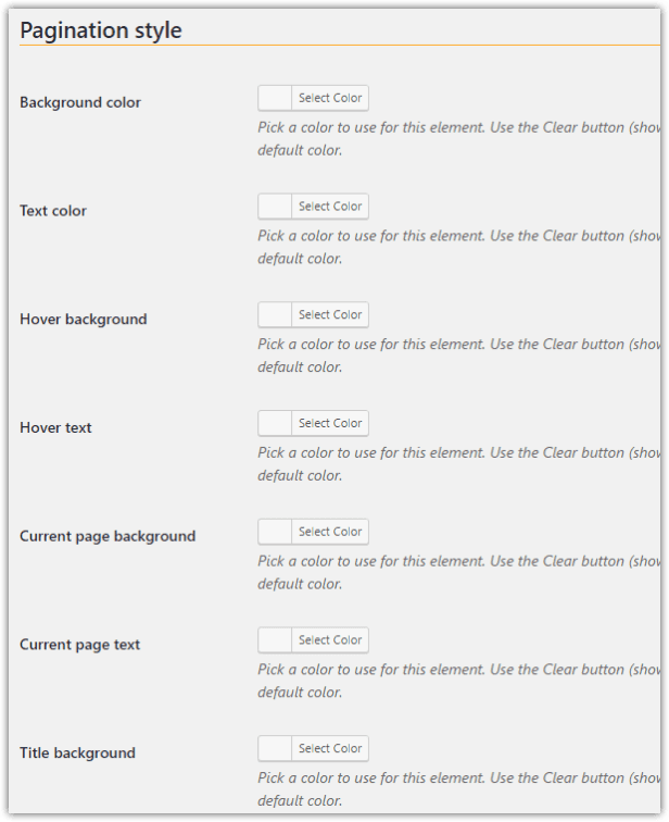 weeblrAMP pagination customization