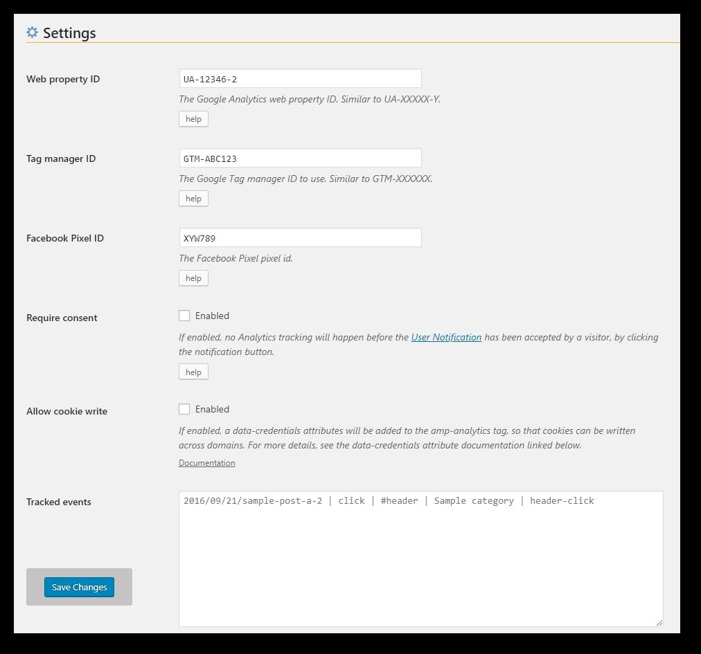 weeblrAMP AMP analytics provider